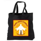 Image of Jesus Loves Pit Bulls Tote