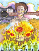 Image of Woody Guthrie: This Land is Your Land PRINT