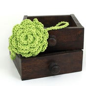 Image of Rose Headband in Spring Green