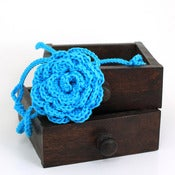 Image of Rose Headband in Turquoise