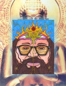 Image of Allen Ginsberg: Buddha Footprint Repitition PRINT