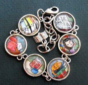 Image of Reading Themed Bracelet Readers Book Literary Themed Jewelry