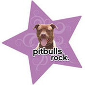 Image of Pit Bulls Rock Car Magnet
