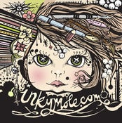 Image of Inkymole 'Dollface' Limited Edition Screen Print / NOW £10