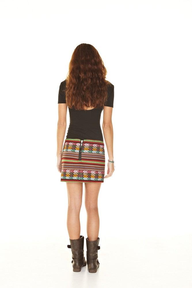 inca mini skirt multi black 55 00 xs m add to cart the inca mini skirt ...