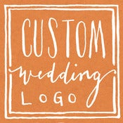 Image of Custom Wedding Logo Design