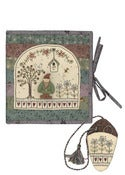 Image of Garden Gnome Needle Book Pattern and Button