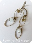 "Image of Boucles d'oreilles ""ellipses"""