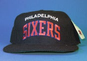 Image of **SOLD OUT** TISA Sixers Starter Arc Snapback Hat