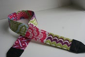 Image of patchwork camera strap :: colorway forty-three