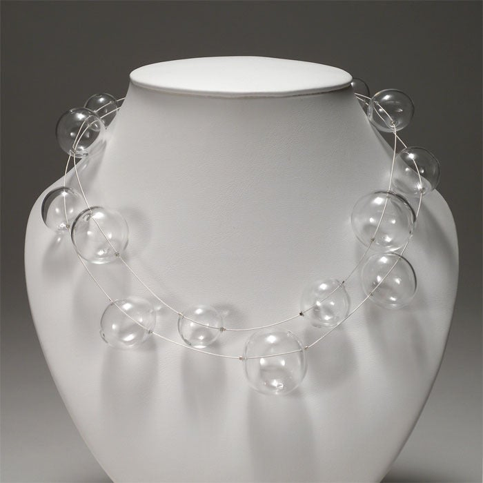 Image of BUBBLE necklace/double