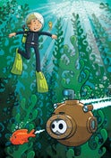 Image of Super Robot Friends - Kelp Forest
