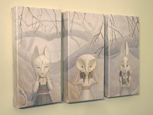 Image of We Hide in the Forest (Limited Edition Giclee)