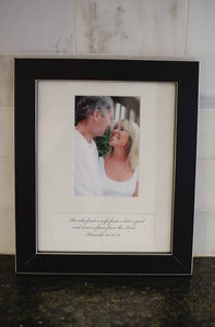 Image of Clean Cut Black Wood Frame