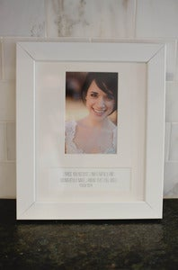Image of Solid White Frame