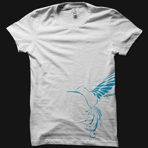 Image of Womens Bird Tee - White