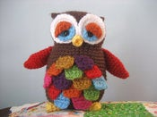 Image of Mr. Hoot Amigurumi Owl Pattern