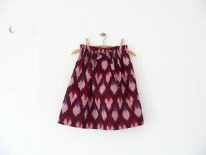 Image of red wine skirt (last one for 2yrd or 4yrd)