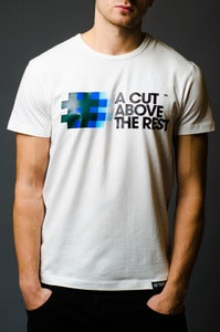 Image of A CUT ABOVE THE REST <br>Slim Fit T-shirt<br><i> by DJ Angelo</i>