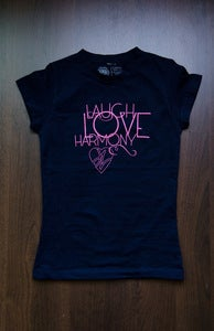Image of JV - Laugh Love Harmony Tee