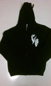 "Image of ""Ghetto"" Chingon Skateboards Men Zip Up Hoodies"