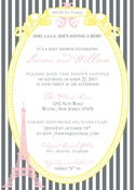 Image of Paris Invitation