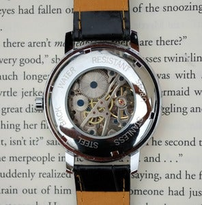 Image of Silver and Rose Wind-Up Wrist Watch