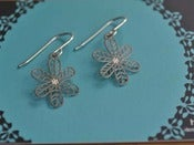 Image of Daisy Drop Earrings