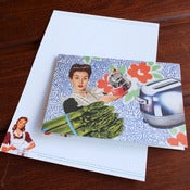 Image of Vintage Homemaker Card