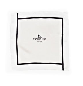 Image of Beige Beige Pocket Square