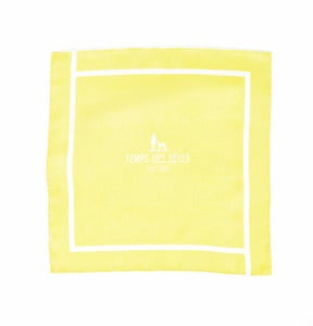 Image of Yellow Yellow Pocket Square