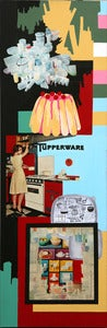 Image of TABLEAU &quot;TUPPERWARE&quot; REF.891