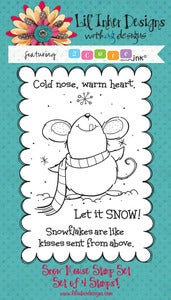Image of 2 Cute Ink - Snow Mouse