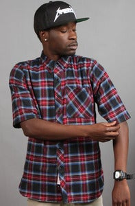 Image of Story Rd. 3/4 Sleeve Dark Flannel