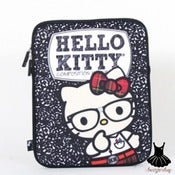 Image of HELLO KITTY NERD IPAD SLEEVE