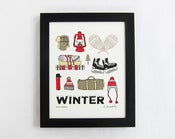 Image of *ON SALE* Winter Supplies Print
