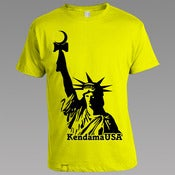 Image of Statue Logo Tee - Yellow