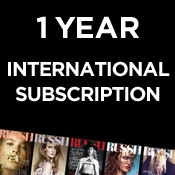 Image of 6 Issue International Subscription (1 year)