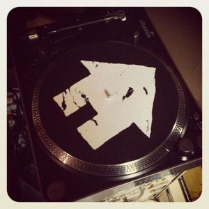 Image of Sideways House TurnTable Slipmat