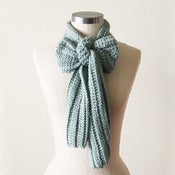 Image of Casual Scarf in Sea Foam