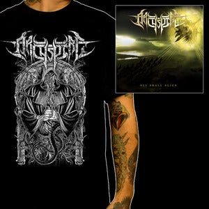 "Image of ARCHSPIRE ""All Shall Align"" CD + SHIRT - Limited Bundle #3"