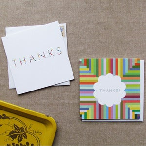 "Image of ""Thank You"" Card Set of 6"
