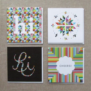 "Image of ""Everyday Occasions"" Card Set of 4"