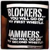 Image of Tiger Bay Brawlers Blockers / Jammers Tee
