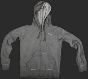 Save-A-LIfe Women's Raw Hoodie w/ White Accents