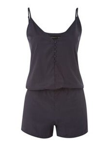 Image of Button Front Playsuit
