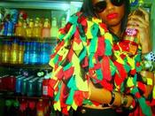 Image of DANCEHALL QUEEN CHIFFON RUFFLED JACKET
