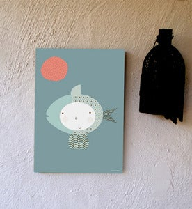 Image of Cuadro infantil AGUA- wallart