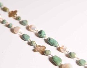 Image of Andrea Montgomery Clover Necklace