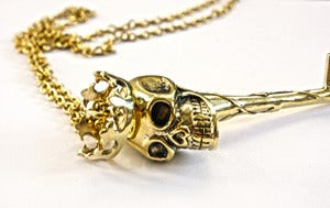Skull Key Necklace